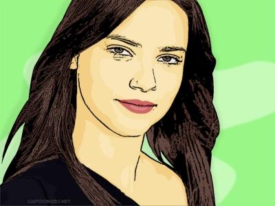 Photo-Cartoon-of-Adriana-Lima