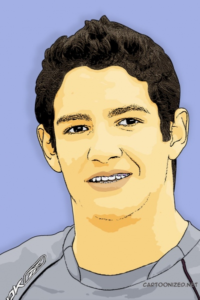 Photo Cartoon of Alexandre Pato