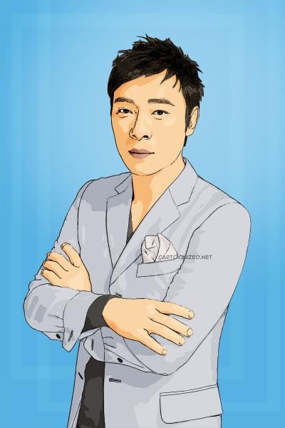 Photo Cartoon of andy hui by cartoonized.net