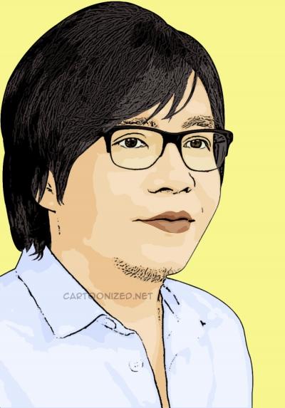 Photo cartoon of Ari Lasso