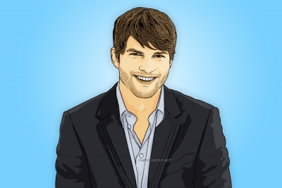 ashton kutcher cartoon photo