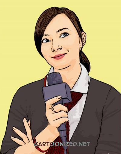 Photo Cartoon of Asmirandah
