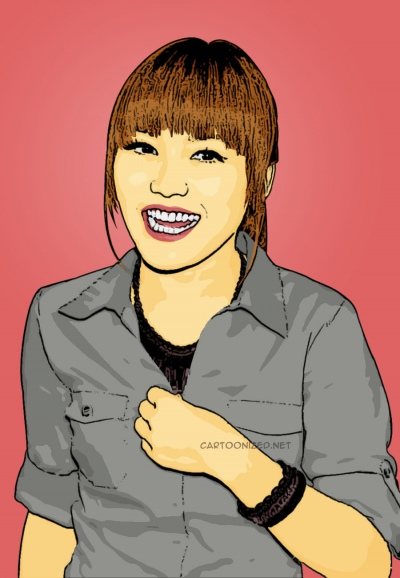 Photo Cartoon Ayu Ting Ting