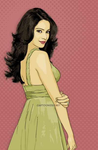 Photo Cartoon of Bipasha Basu