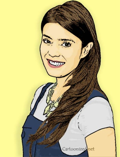 Photo Cartoon of Carissa Puteri