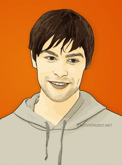 chace crawford cartoon photo