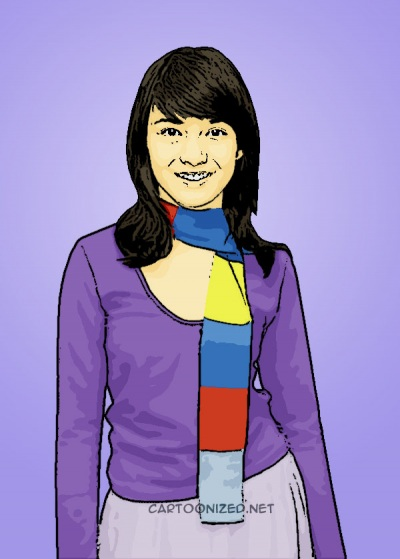 Photo Cartoon of Chelsea Olivia
