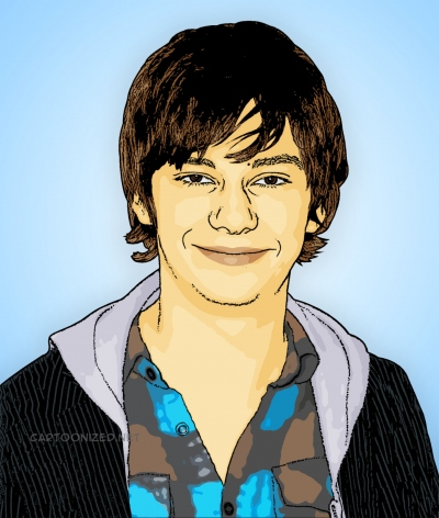 cartoon photo of devon bostick by cartoonized.net