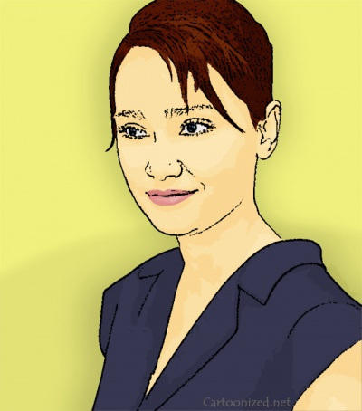 Photo Cartoon of Febby Febiola