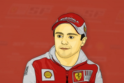 cartoon photo of felipe massa by cartoonized.net