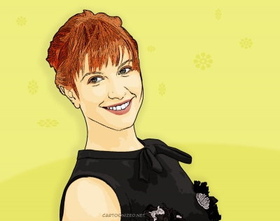 Photo Cartoon of Hayley Williams