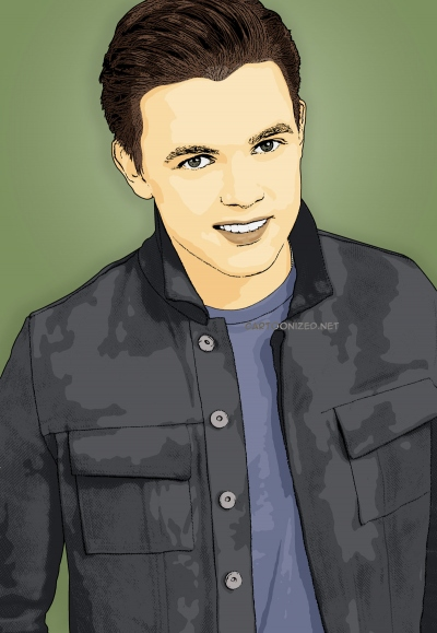 Photo Cartoon of Jesse McCartney