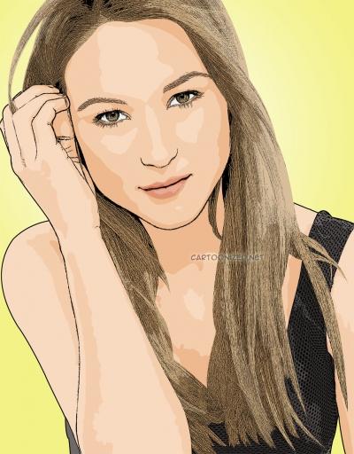 Cartoon photo of Jewel