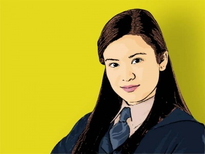 Photo Cartoon of katie leung