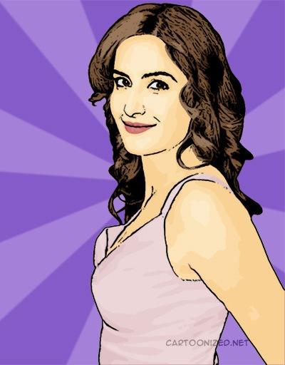 Photo Cartoon of Katrina Kaif