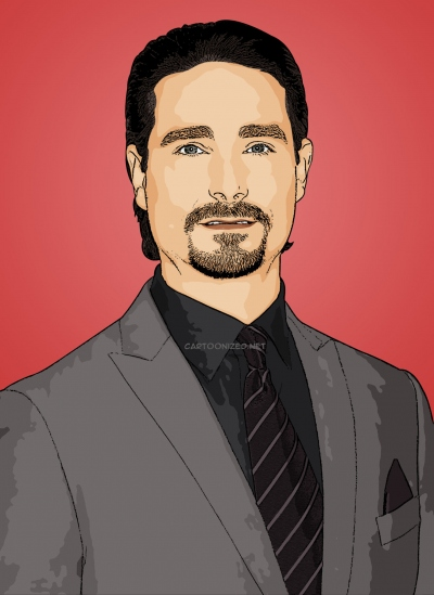 cartoon photo of Kevin Richardson