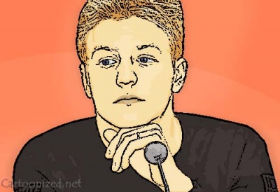 Photo Cartoon of Kimi Raikkonen