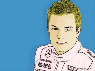 Photo-Cartoon-of-Kimi-Raikkonen