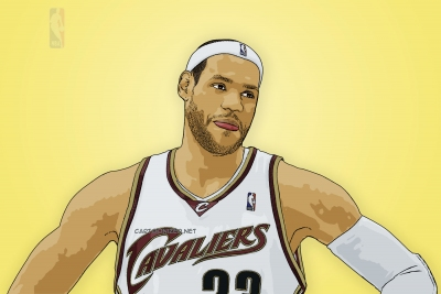 lebron james cartoon photo by cartoonized.net