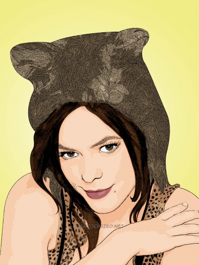 cartoon photo of Lenka