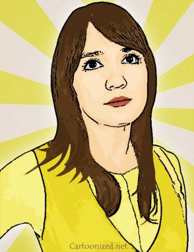 Photo Cartoon of Luna Maya