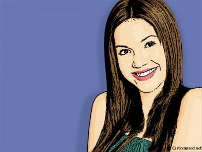 Photo Cartoon of Mandy Moore