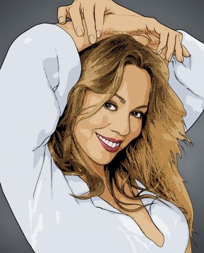 mariah carey cartoon photo