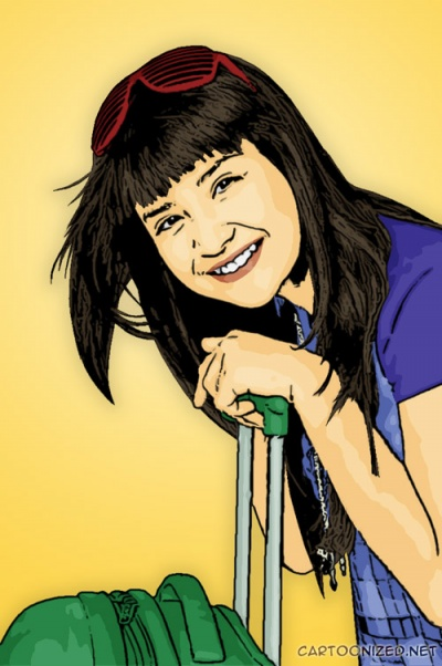 Putri Titian cartoon photo by cartoonized.net