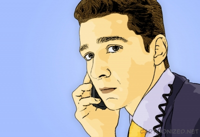 shia labeouf cartoon photo by cartoonized.net