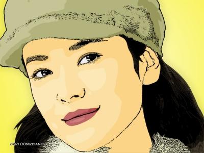 song hye kyo cartoon photo