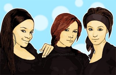 Photo Cartoon of Sugababes