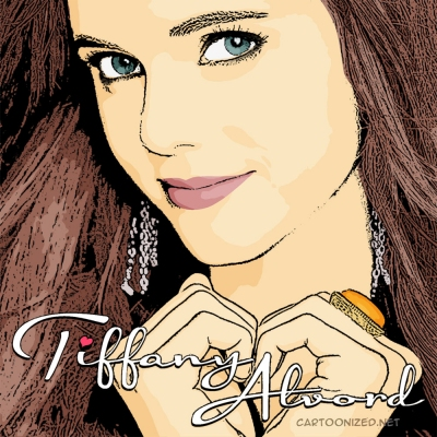 cartoon photo of Tiffany Alvord