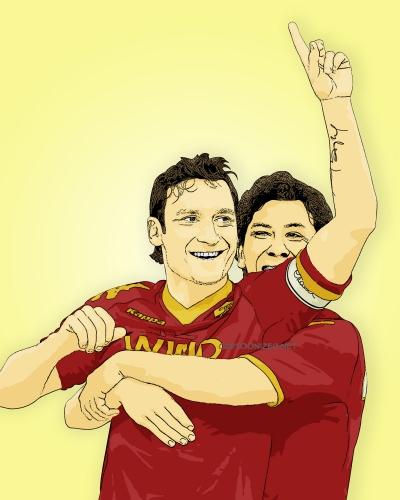 Photo Cartoon of Francesco Totti by cartoonized.net