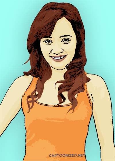 Photo Cartoon of Vega Darmawanti