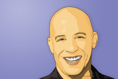 cartoon photo of vin diesel by cartoonized.net