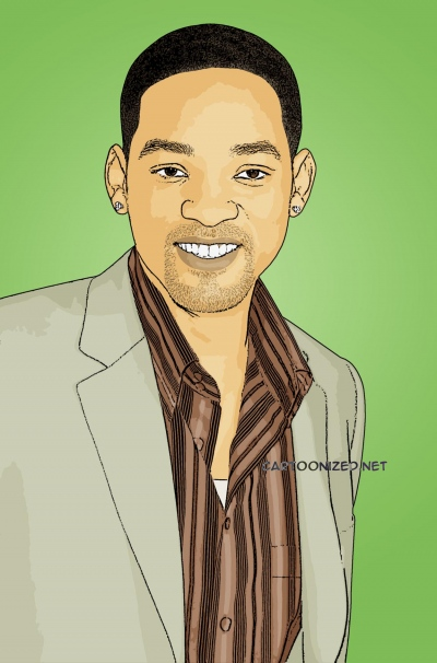 Photo Cartoon of Will Smith