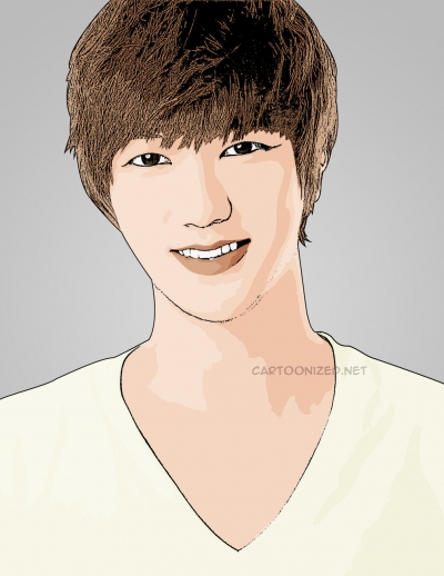 cartoon photo of Yesung