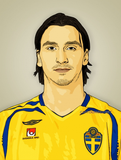 zlatan ibrahimovic cartoon photo
