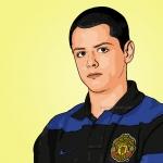 Photo Cartoon of Javier Hernandez