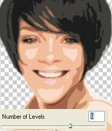 cutout using 6 levels