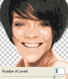 cutout using 7 levels