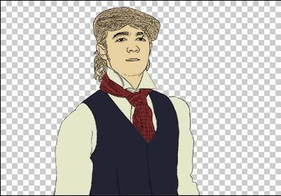 colorize: neck tie