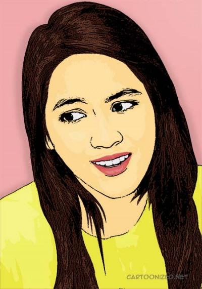 Photo Cartoon of Alyssa Soebandono