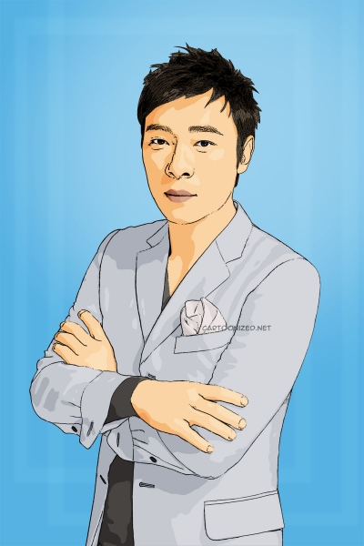 Photo Cartoon of andy hui by cartoonized.net