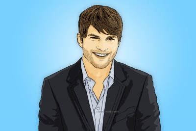 ashton kutcher cartoon photo