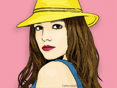 Photo Cartoon of Britney Spears