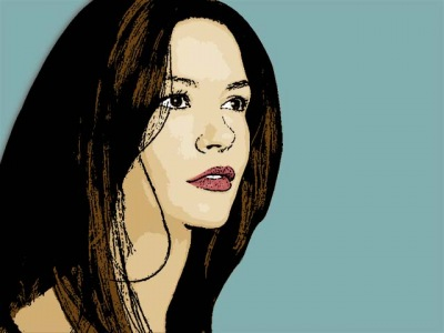 Photo Cartoon of Catherine Zeta Jones