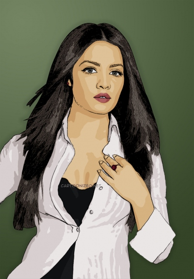 celina jaitley cartoon photo