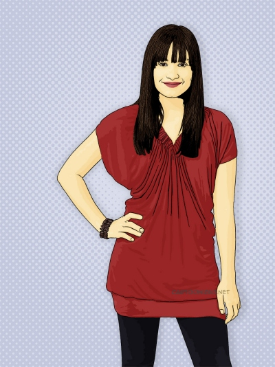 Photo Cartoon of demi lovato