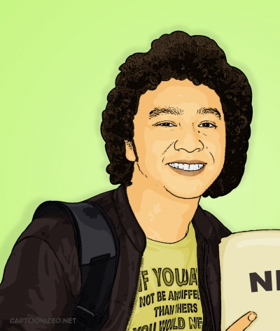 Photo Cartoon of Giring Nidji